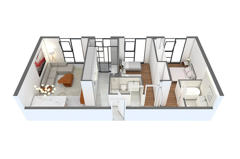 DIAZ-ROMERO-ARQUITECTURA-17-VIVIENDAS-ALBACETE-vivienda-2dormitorios