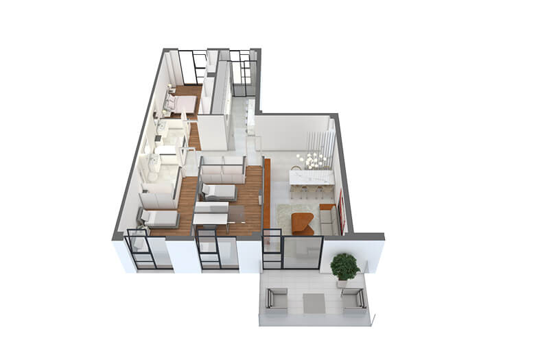 DIAZ-ROMERO-ARQUITECTURA-17-VIVIENDAS-ALBACETE-vivienda-3dormitorios