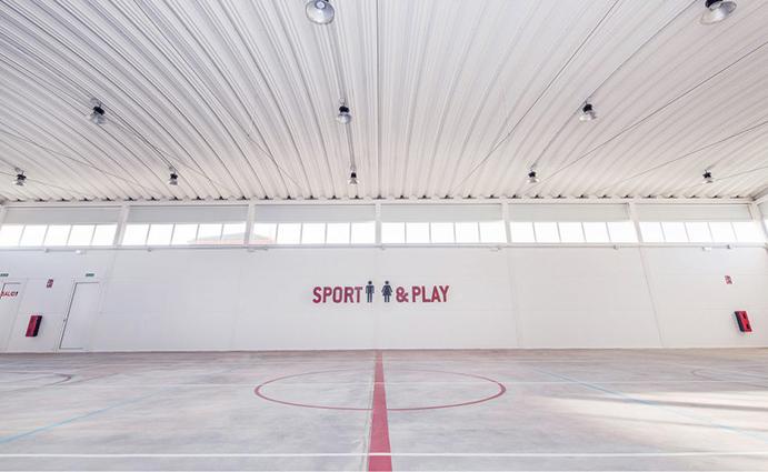 Polideportivo Villagarcía del Llano